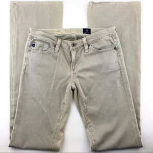 AG ADRIANO GOLDSCHMIED Angel Bootcut Pants Gray